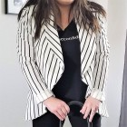 striped FTF blazer 2